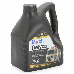 MOBIL DELVAC XHP EXTRA 10W-40 (4л)